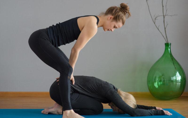 Lénok Yoga - Child's Pose Assist