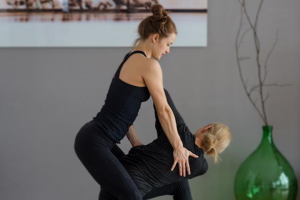 Spinal Rotation - Yoga